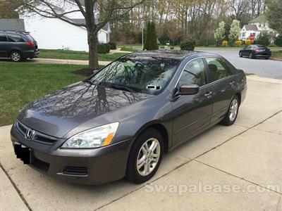 2007 Honda Accord lease in Glassboro,NJ - Swapalease.com