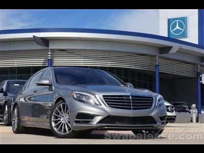 2015 Mercedes-Benz S-Class lease in Clearwater Beach,FL - Swapalease.com