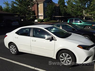 2015 Toyota Corolla lease in Hillsboro,OR - Swapalease.com