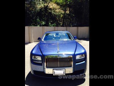 2013 Rolls-Royce Ghost lease in Sherman Oaks ,CA - Swapalease.com