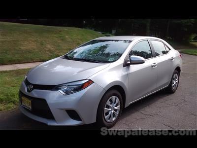 2014 Toyota Corolla lease in Plainfield,NJ - Swapalease.com