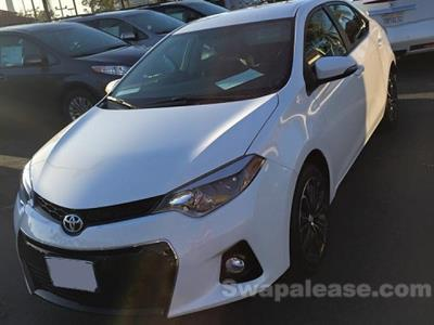 2015 Toyota Corolla lease in Fremont,CA - Swapalease.com