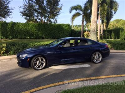 2015 BMW 6 Series lease in Hollywood,FL - Swapalease.com