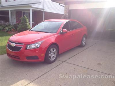 2014 Chevrolet Cruze lease in shelby twp,MI - Swapalease.com