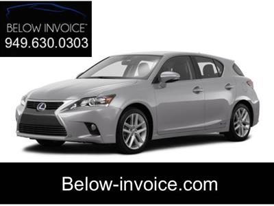 2017 Lexus CT 200h lease in Orange County,CA - Swapalease.com