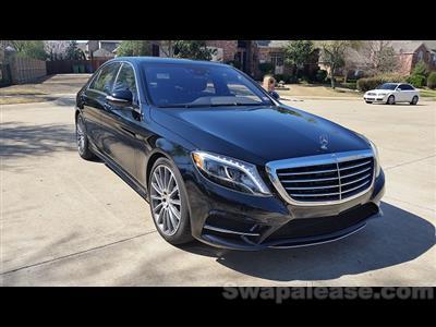 2015 Mercedes-Benz S-Class lease in arlington,TX - Swapalease.com