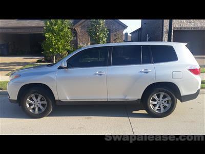 2013 Toyota Highlander lease in little elm,TX - Swapalease.com