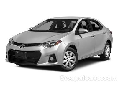 2015 Toyota Corolla lease in Montrose,CA - Swapalease.com