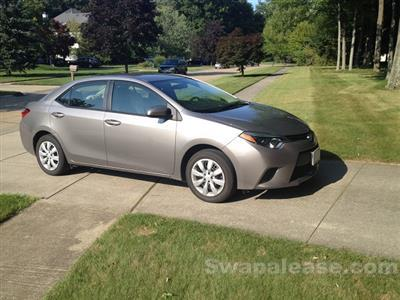 2014 Toyota Corolla lease in Amherst,OH - Swapalease.com