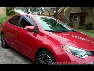2015 Toyota Corolla lease in Pembroke Pines,FL - Swapalease.com