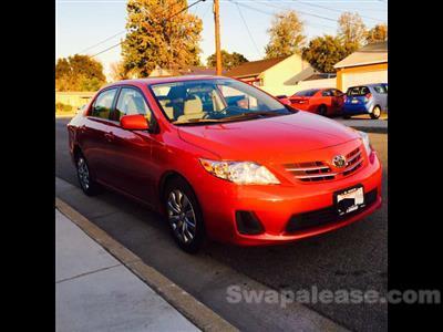 2013 Toyota Corolla lease in el monte,CA - Swapalease.com