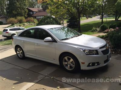 2014 Chevrolet Cruze lease in Grands Ledge,MI - Swapalease.com