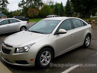 2014 Chevrolet Cruze lease in Grand Blanc,MI - Swapalease.com