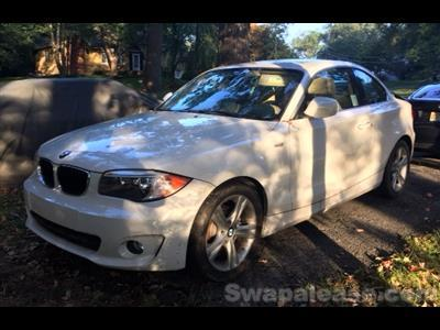 2013 BMW 1 Series lease in Whittany ,NJ - Swapalease.com