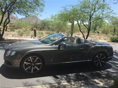 2015 Bentley Continental GT V8 S lease in Scottsdale,AZ - Swapalease.com