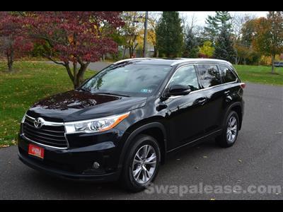 2014 Toyota Highlander lease in Philadelphia,PA - Swapalease.com