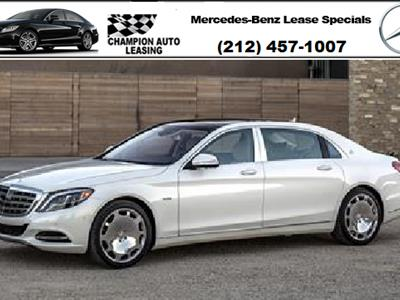 Mercedes benz s class maybach lease deals for Mercedes benz lease nyc