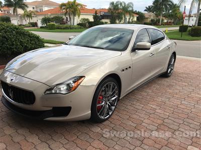 2014 Maserati Quattroporte lease in Fort Myers,FL - Swapalease.com