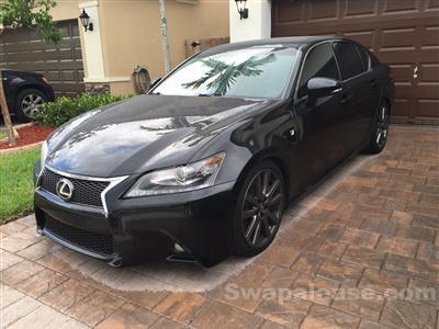 2013 Lexus GS 350 F Sport lease in Homestead,FL - Swapalease.com