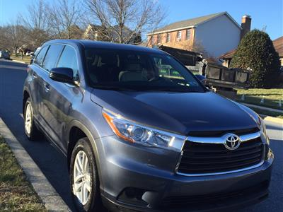 2015 Toyota Highlander lease in Reading,PA - Swapalease.com