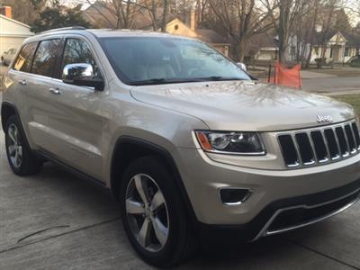 2014 Jeep Grand Cherokee lease in Birmingham,MI - Swapalease.com